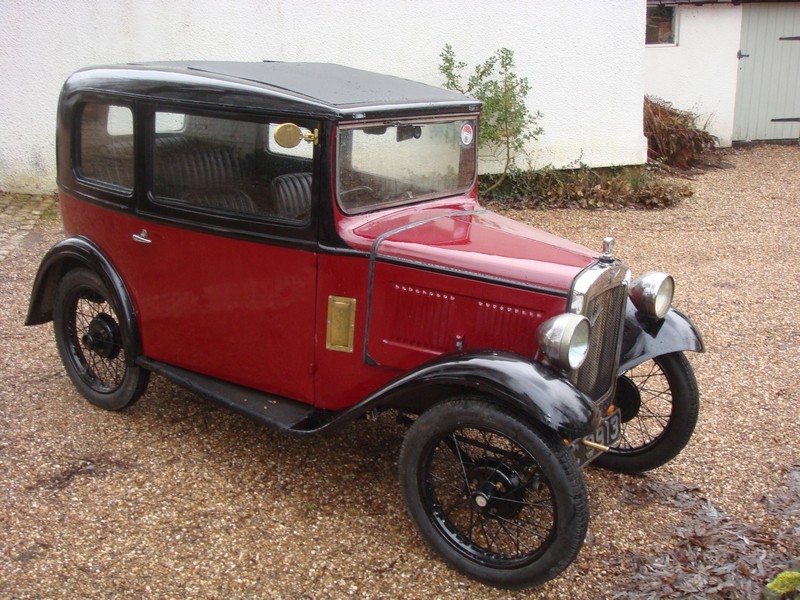 Austin 7 Ruby 1934. Maintenance of old vehicles: the material for ...