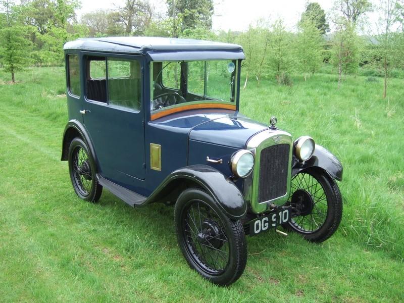 Austin Seven Mulliner Sunshine Saloon 1930 | Classic Cars ...