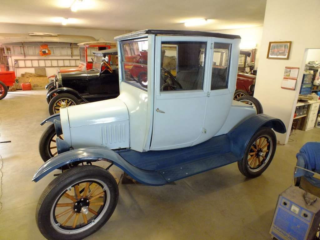 Ford Model T Coupe 1923 Maintenance/restoration of old/vintage ...