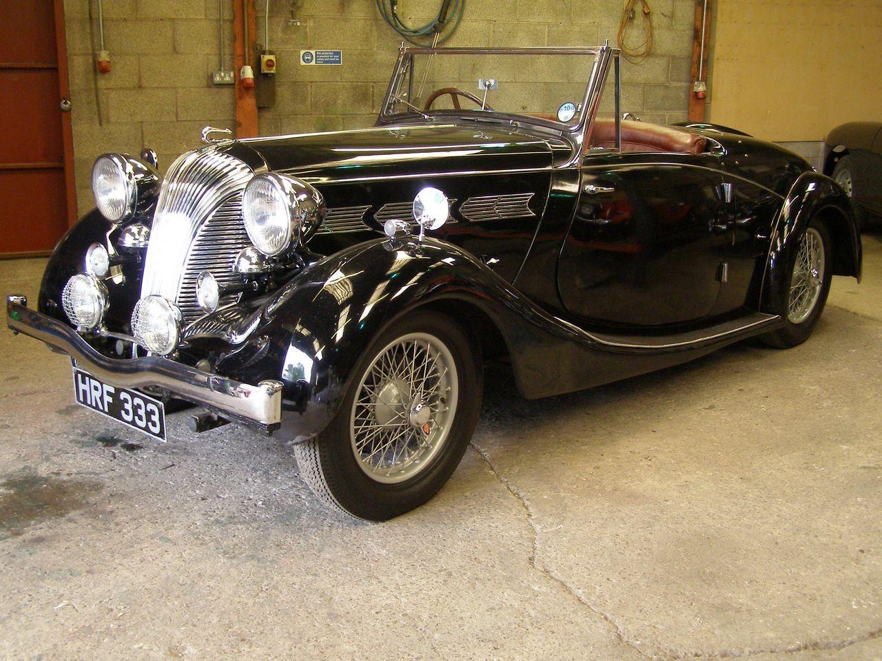 Triumph 14 65 Dolomite Roadster 1939 Triumph Cars British Cars Art Deco Car